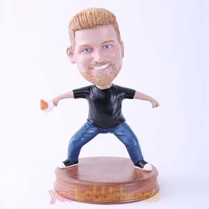 Picture of Custom Bobblehead Doll: Man Cross-open