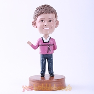 Picture of Custom Bobblehead Doll: Man in Hanbok