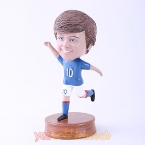 Picture of Custom Bobblehead Doll: Man in Kicking Posture