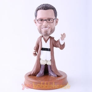 Picture of Custom Bobblehead Doll: Man in Long Coat