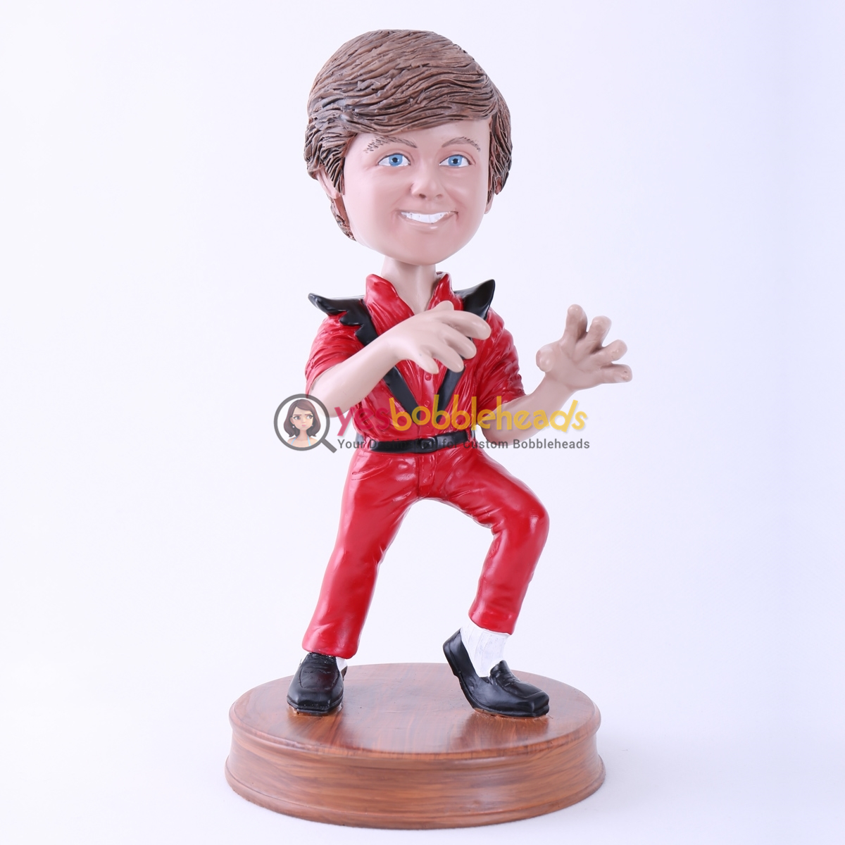 Picture of Custom Bobblehead Doll: Moonwalk Man