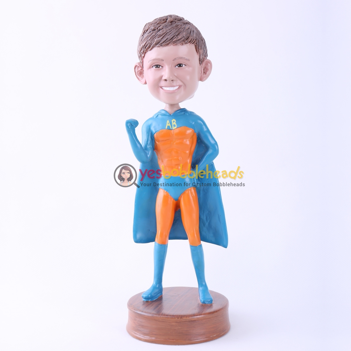Picture of Custom Bobblehead Doll: Orange Skin Superboy