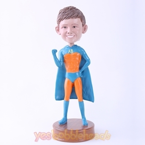 Picture of Custom Bobblehead Doll: Orange Skin Superboy