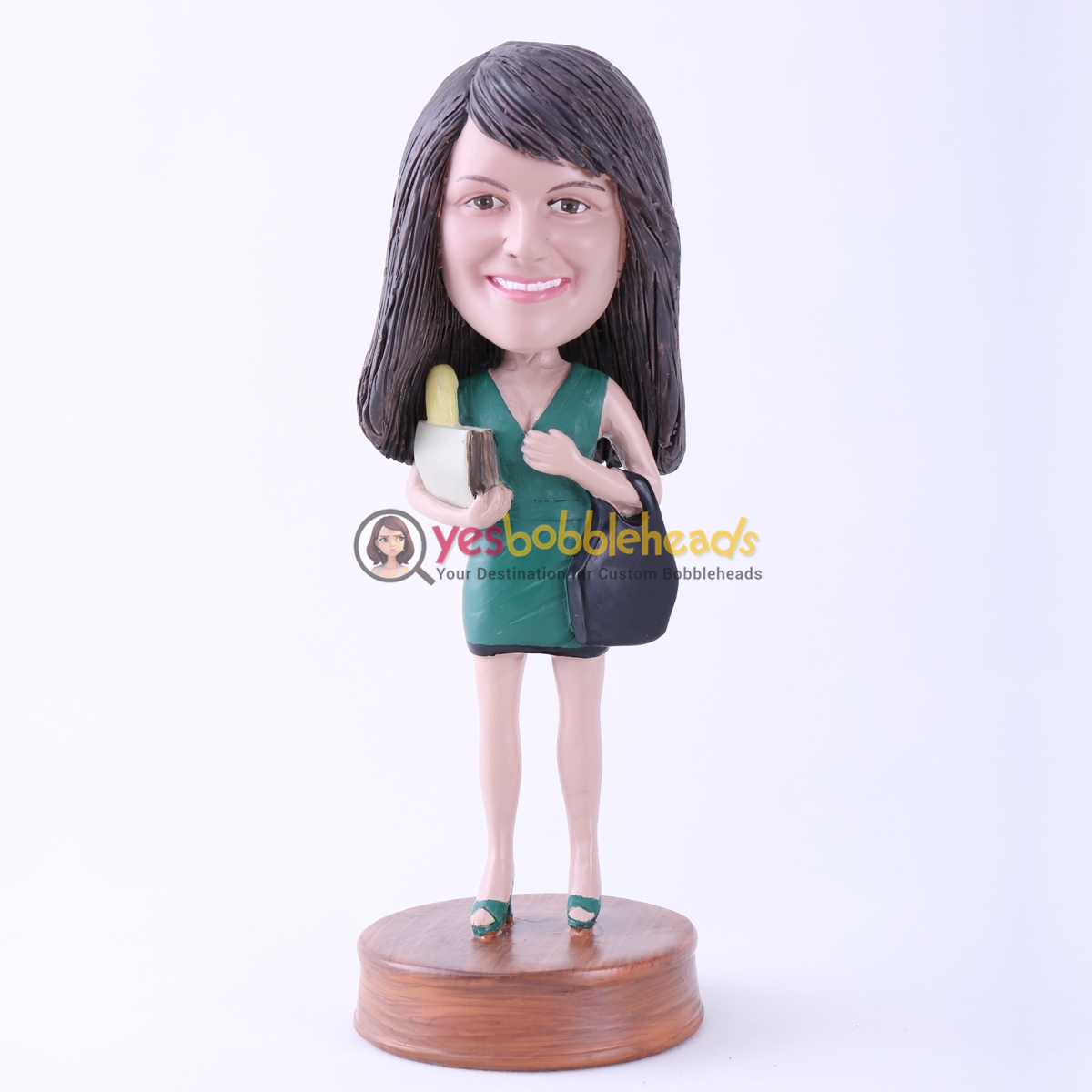 Picture of Custom Bobblehead Doll: Shopping Girl