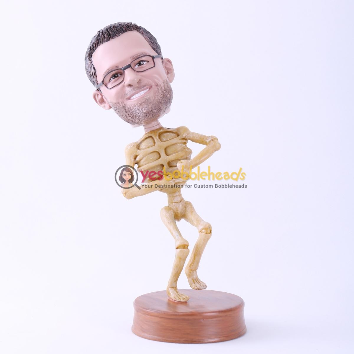 Picture of Custom Bobblehead Doll: Skull Man