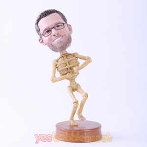 Picture of Custom Bobblehead Doll: Skull Man
