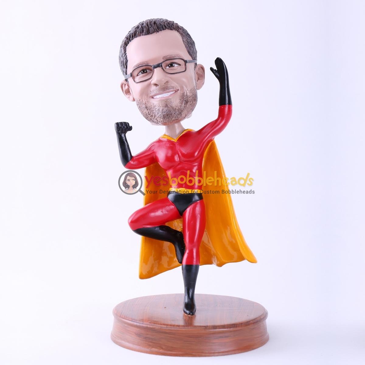 Picture of Custom Bobblehead Doll: Superhero Man