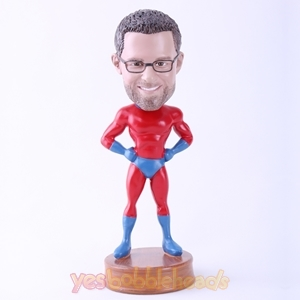 Picture of Custom Bobblehead Doll: Superman without Cloak