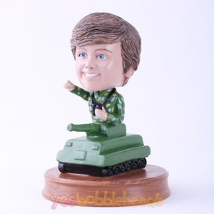 Picture of Custom Bobblehead Doll: Tank Man
