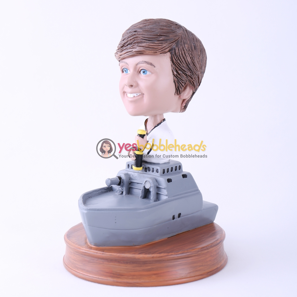 Picture of Custom Bobblehead Doll: Warship Captain