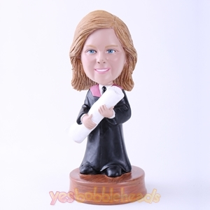 Picture of Custom Bobblehead Doll: Woman Graduation