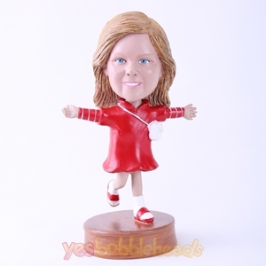 Picture of Custom Bobblehead Doll: Woman Open Arms
