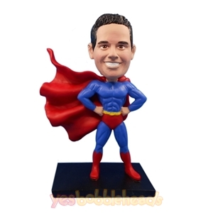 Picture of Custom Bobblehead Doll: Cool Superman