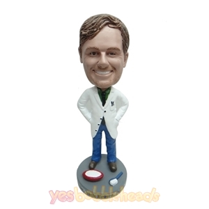 Picture of Custom Bobblehead Doll: Smiling Dentist