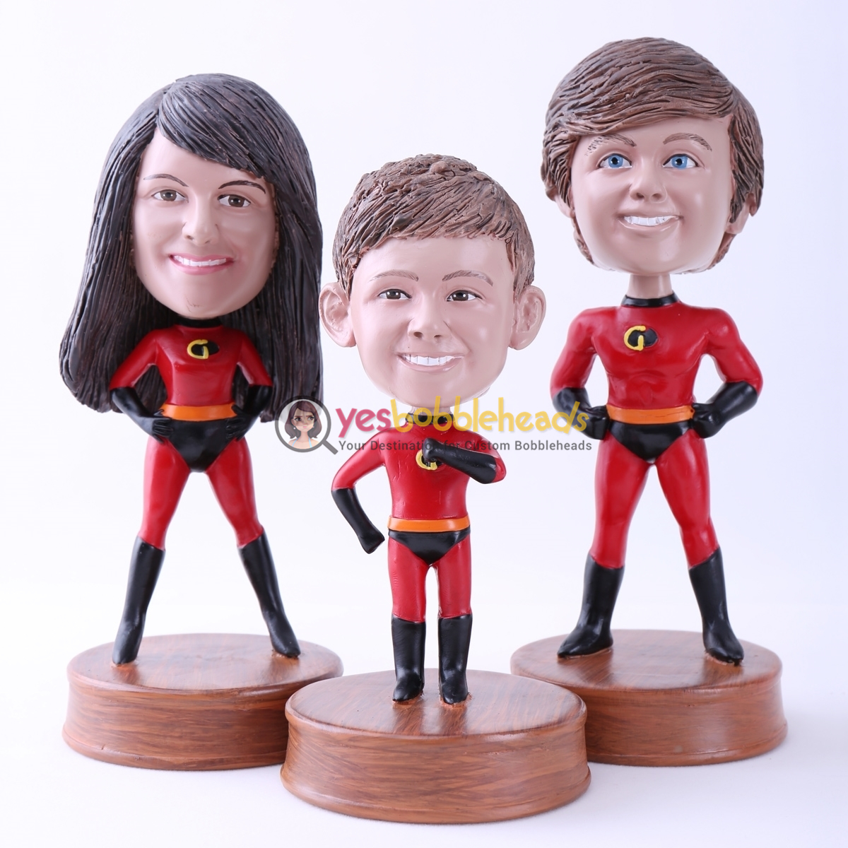 Picture of Custom Bobblehead Doll: Family of The Incredibles