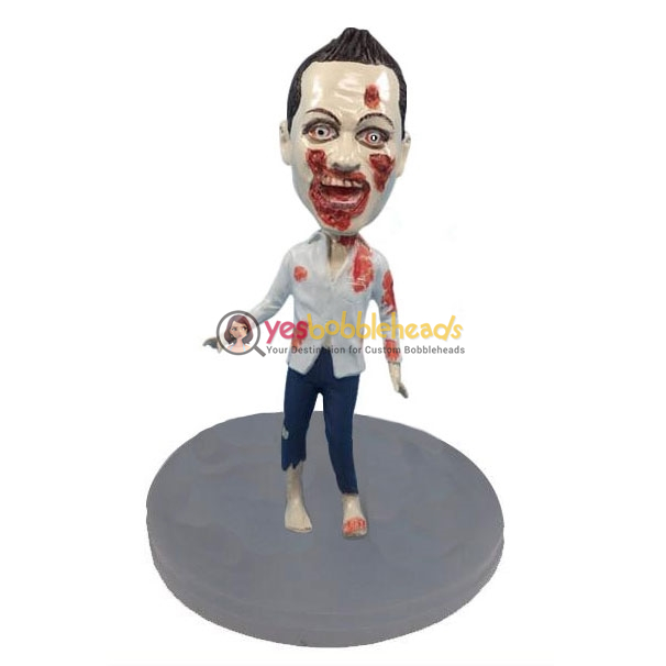 Picture of Custom Bobblehead Doll: Zombie Man