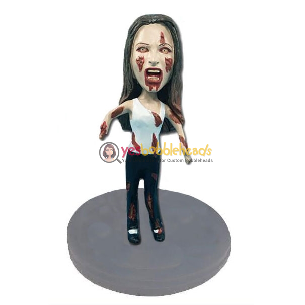 Picture of Custom Bobblehead Doll: Zombie Woman