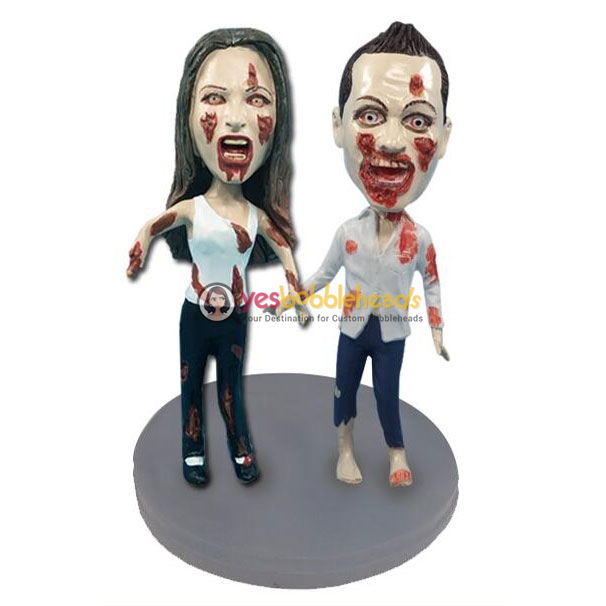 Picture of Custom Bobblehead Doll: Zombie Couple