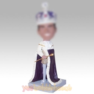 Picture of Custom Bobblehead Doll: Noble King