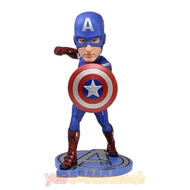 Picture of Custom Bobblehead Doll: Captain America With Shield