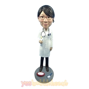 Picture of Custom Bobblehead Doll: Female Dentist