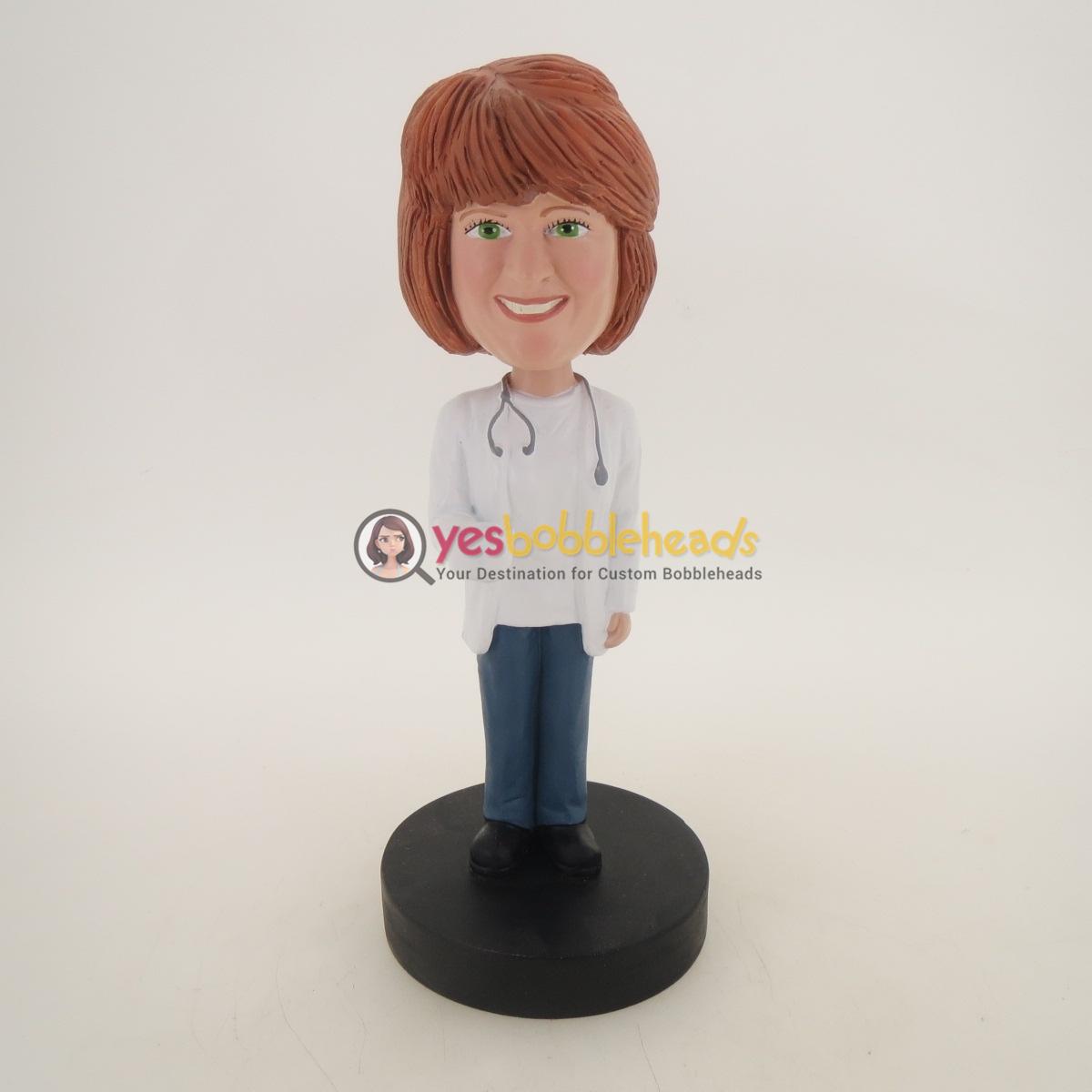 Picture of Custom Bobblehead Doll: Lovely Nurse