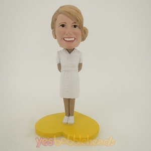 Picture of Custom Bobblehead Doll: Happy Nurse