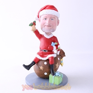 Picture of Custom Bobblehead Doll: Cute Santa Man