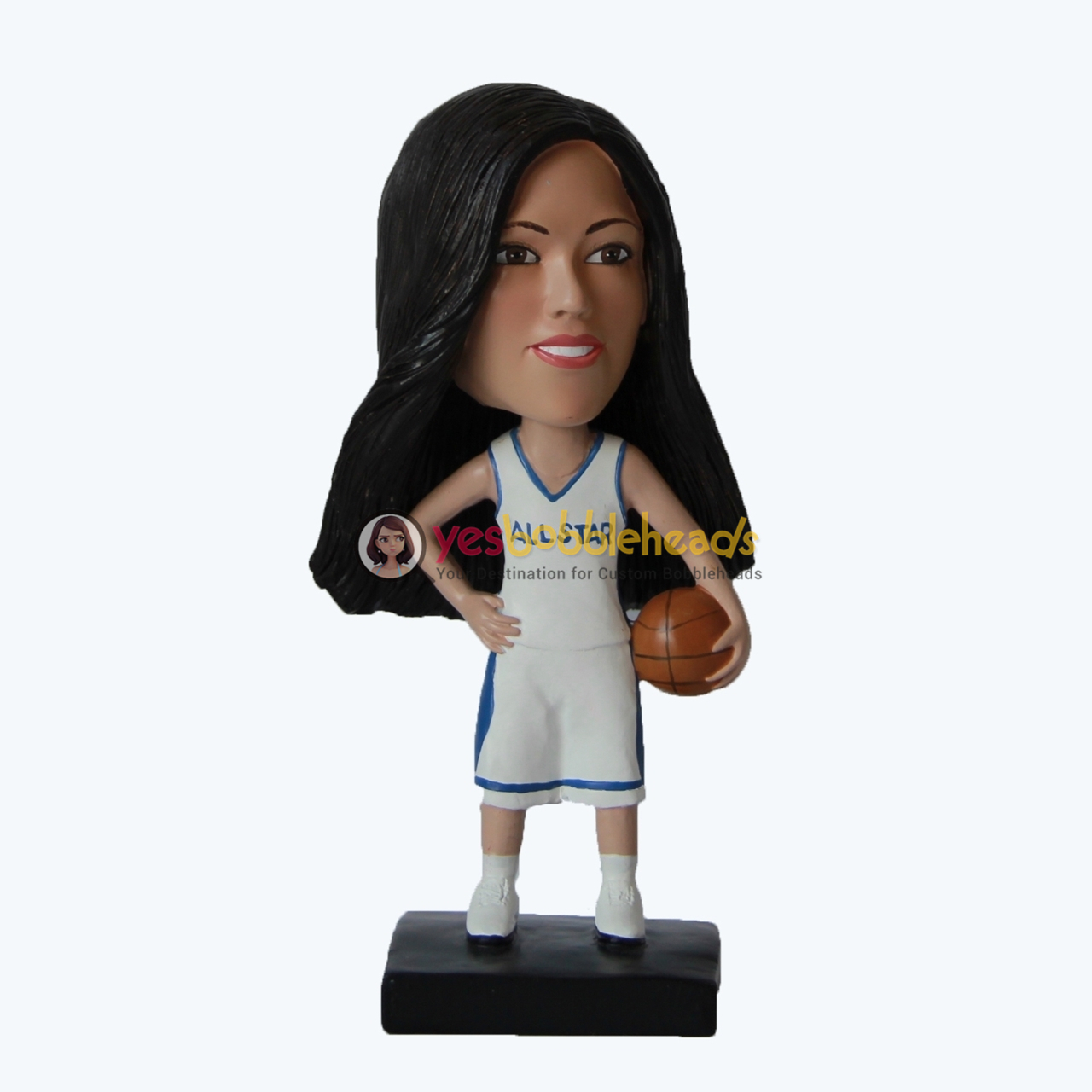 Picture of Custom Bobblehead Doll: Female Basketball Player