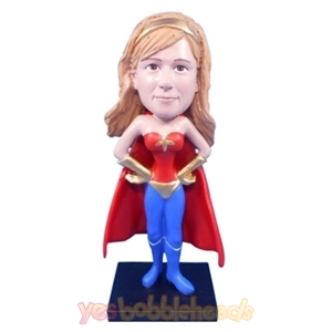 Picture of Custom Bobblehead Doll: Wonder Woman in Cape