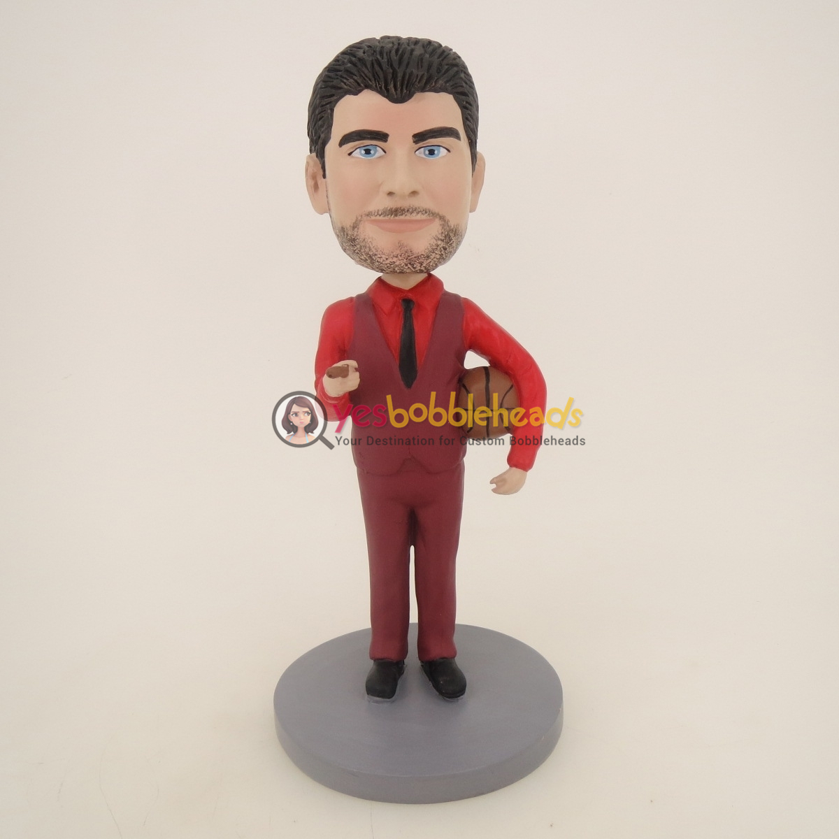 Picture of Custom Bobblehead Doll: Basketball Referee