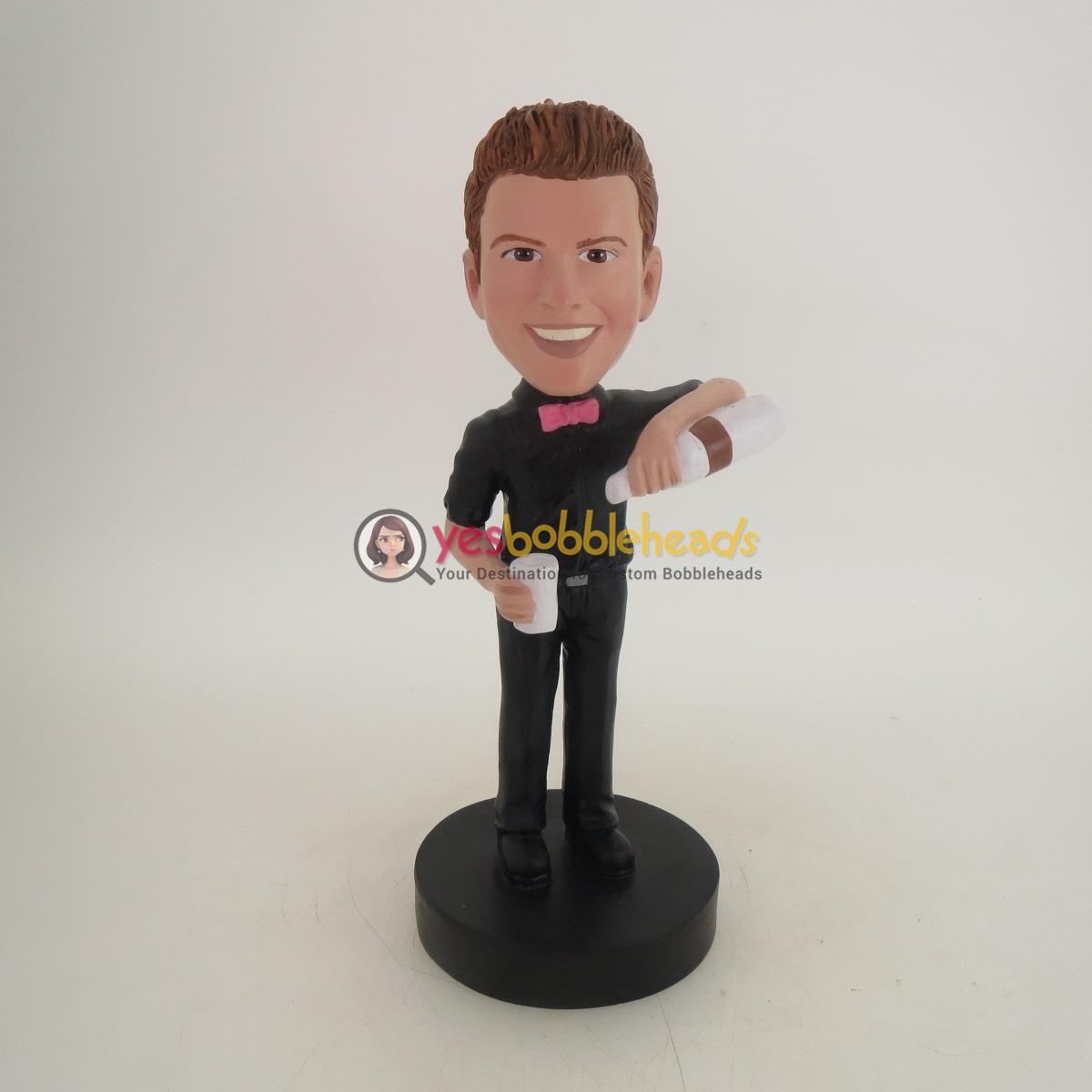 Picture of Custom Bobblehead Doll: Bar Tender