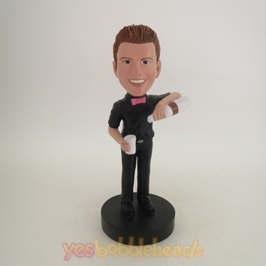 Picture of Custom Bobblehead Doll: Bar Tender