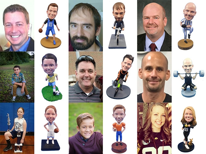 Sports Custom Bobbleheads Gallery