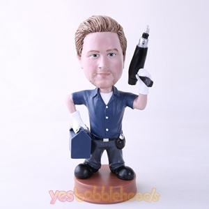 Picture of Custom Bobblehead Doll: Repairman