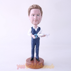 Picture of Custom Bobblehead Doll: Tailor