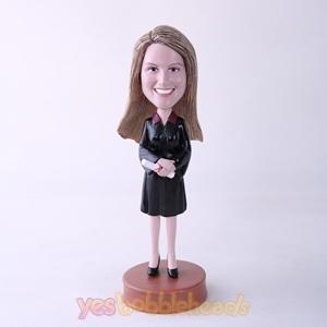 Picture of Custom Bobblehead Doll: Female Graduate