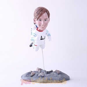 Picture of Custom Bobblehead Doll: Female Astronaut