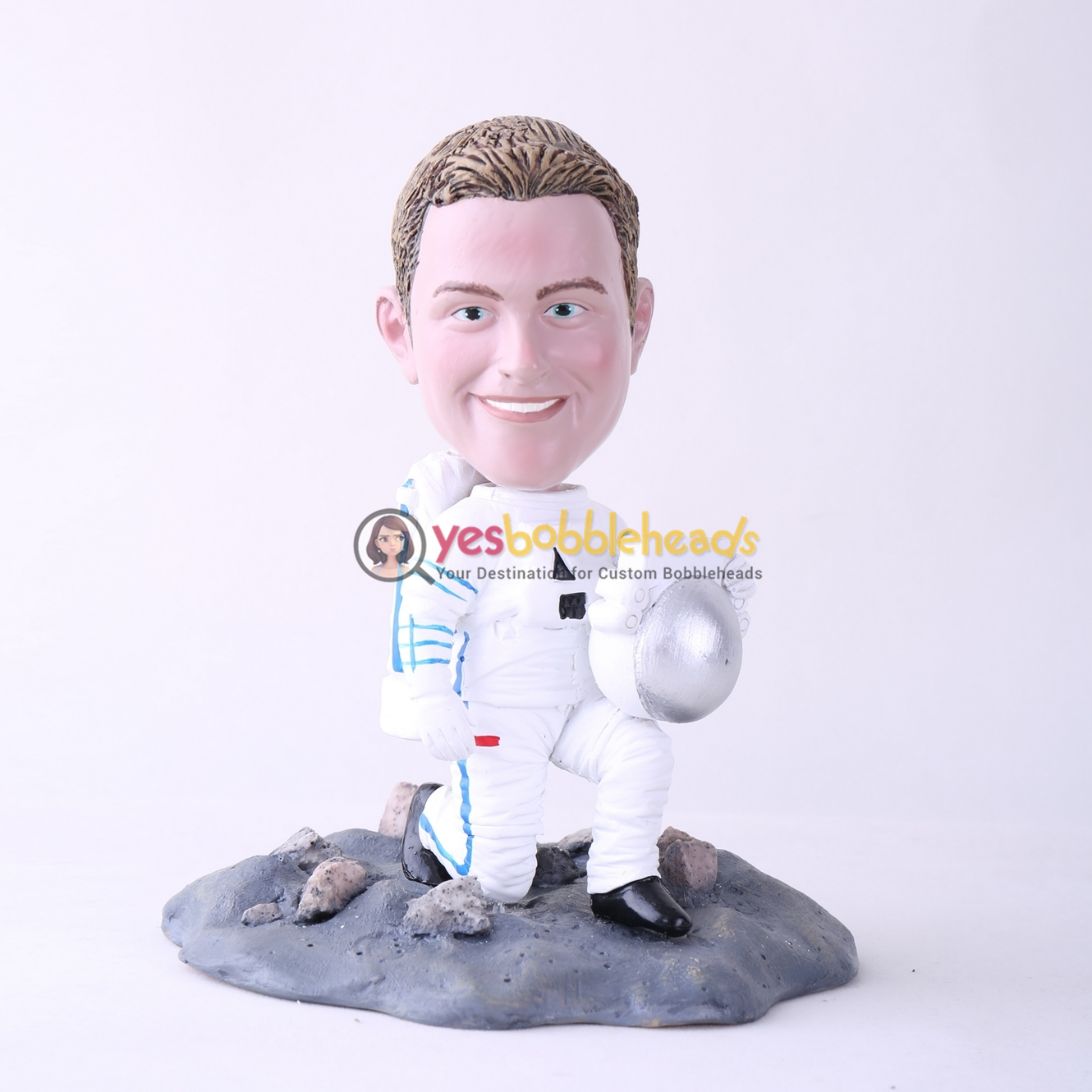 Picture of Custom Bobblehead Doll: Male Astronaut