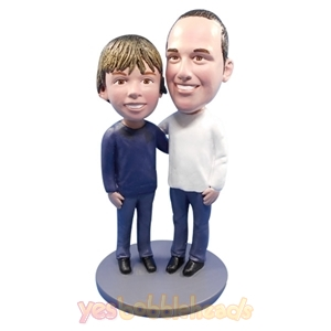 Picture of Custom Bobblehead Doll: Father & Son