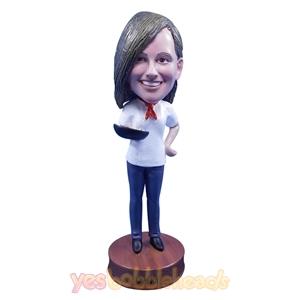 Picture of Custom Bobblehead Doll: Female Chef