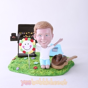 Picture of Custom Bobblehead Doll: BBQ Theme Boy