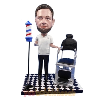 Picture of Custom Bobblehead Doll: Barber