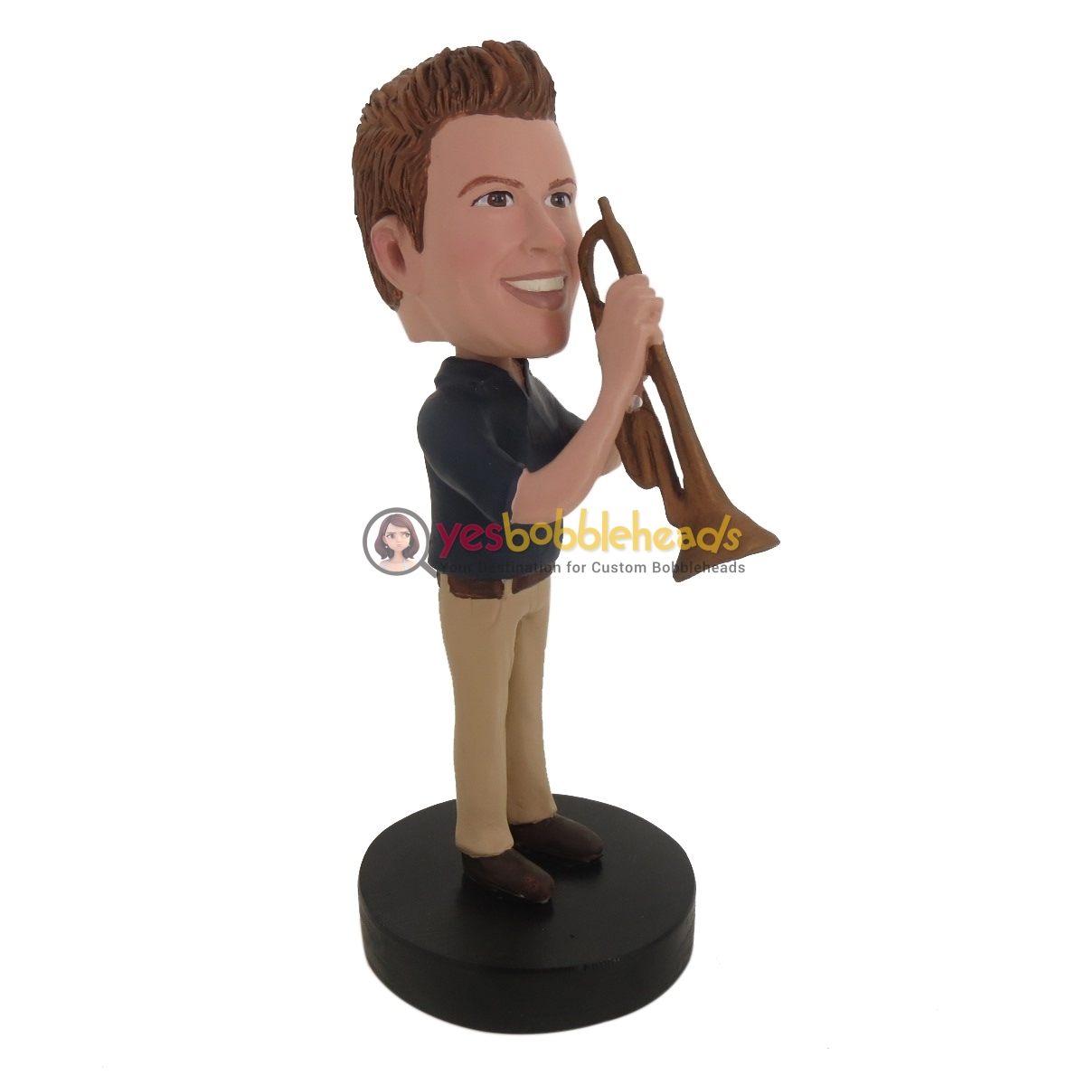 Picture of Custom Bobblehead Doll: Trumpet Player