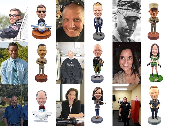 Military Custom Bobbleheads Gallery