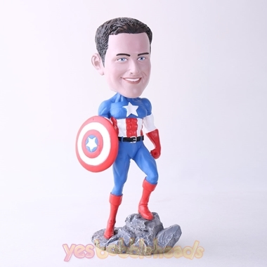 Picture of Custom Bobblehead Doll: US Captain