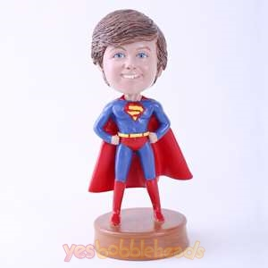 Picture of Custom Bobblehead Doll: Little Boy in Red Cape