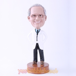 Picture of Custom Bobblehead Doll: White Uniform Doctor