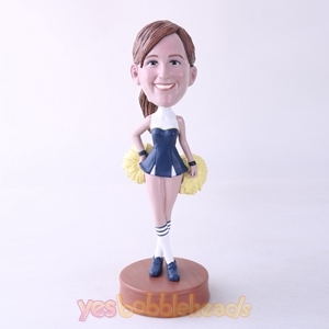 Picture of Custom Bobblehead Doll: Cheerleader Dancer