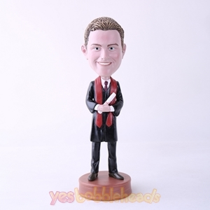 Picture of Custom Bobblehead Doll: Male Graduate